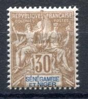 RC 17687 SÉNÉGAMBIE ET NIGER COTE 18€ N° 9 TYPE GROUPE NEUF * TB MH  VF - Sénégambie Et Niger (1903-1906)
