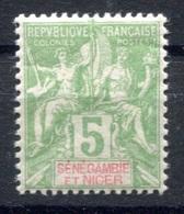 RC 17690 SÉNÉGAMBIE ET NIGER COTE 7€ N° 4 TYPE GROUPE NEUF * TB MH  VF - Sénégambie Et Niger (1903-1906)