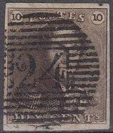 N° 1 - 24 - 4 Randen - 1849 Epaulettes