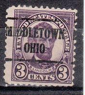 USA Precancel Vorausentwertung Preo, Locals Ohio, Middletown 635-225 - United States
