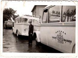 """Photo Originale Chauffeur De Car & Autocar """" Bremer Vorort - Bahnen G.M.B.H """" - Cars"""