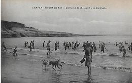 Vaux-sur-Mer. Domaine De Malakoff, L'enfant Au Grand Air, La Baignade. - Vaux-sur-Mer