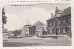 Wichelen - Deelgemeente Schellebelle - Zicht Op Gemeentehuis En 't Veir (niet Gelopen Kaart) - Wichelen