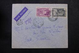 RÉUNION - Enveloppe En Recommandé De St Denis Pour Paris En 1937, Affranchissement Plaisant  - L 62769 - Réunion (1852-1975)