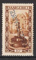 Saar MiNr. D 22 * Abart   (sab14) - Dienstmarken