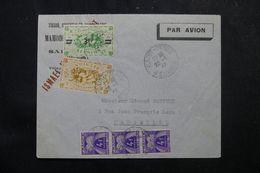 RÉUNION - Enveloppe Commerciale De St Denis Pour Marseille En 1947 Avec Taxes De Marseille à L 'arrivée - L 62771 - Réunion (1852-1975)