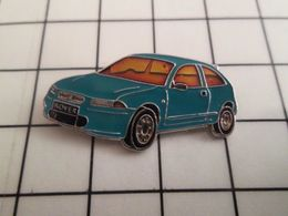 115c Pin's Pins / Beau Et Rare / THEME : AUTOMOBILES / ROVER BLEU PETROLE Par PIN HOUSE - Altri