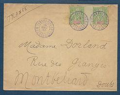 MADAGASCAR - Enveloppe De Tananarive Pour La France - Madagascar (1889-1960)
