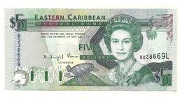 St. Lucia - 5 Dollars 1995 - Oostelijke Caraïben