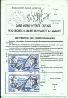 TP N° PA44 X 2  SUR ORDRE REEXPEDITION DE 1979 - Marcophilie (Lettres)