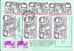 TP N° PA55x7 + DIVERS  SUR ORDRE REEXPEDITION DE 1983 - Marcophilie (Lettres)