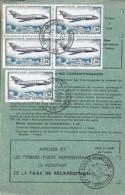 TP N° PA42 X 5  SUR ORDRE REEXPEDITION DE 1973 - Marcophilie (Lettres)