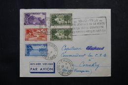 VIÊTNAM - Enveloppe De Thuduc Pour Conakry ( Guinée Française ) En 1951, Affranchissement Plaisant - L 62789 - Viêt-Nam