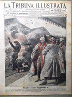 La Tribuna Illustrata 24 Giugno 1917 WW1 Guglielmo Pietrogrado Albania Tedeschi - Guerre 1914-18