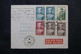 VIÊTNAM - Enveloppe De Saïgon Pour La France En 1955, Affranchissement Plaisant - L 62790 - Vietnam