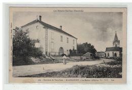 70 ALAINCOURT #12247 PRES VAUVILLERS MAIRIE ET EGLISE N° 109 EDIT DETRIE BAZAR - Francia