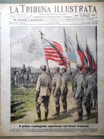 La Tribuna Illustrata 1 Luglio 1917 WW1 Randaccio Croce Rossa Gasparotto Carso - Guerre 1914-18