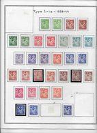 France - Collection Vendue Page Par Page - Timbres Neufs * Avec Charnière - TB - 1939-44 Iris