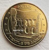 Monnaie De Paris 71.Autun Le Temple De Janus Revers Numéroté. 2010 - Monnaie De Paris