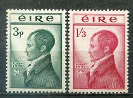 Ireland Mi# 118-9 Postfrisch/MNH - Revolutionary - 1949-... Republic Of Ireland