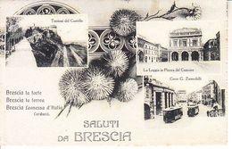 ITALIA - BRESCIA - Leggi Testo, Animata, Viag. 1918 - 2020-B-356 - Brescia
