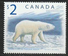 PIA - CANADA - 1998 : Fauna Del Canada : Orso Bianco  - (Yv 1617) - 1952-.... Règne D'Elizabeth II