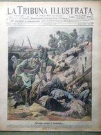 La Tribuna Illustrata 8 Luglio 1917 WW1 Nietzsche Austriaci Monfalcone Shrapnels - War 1914-18