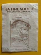 11647 - La Fine Goutte Du Cavalier Randonneur Daniel & Christine Dupuis Perroy - Cavalli