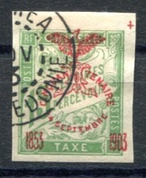 RC 17715 Nelle CALÉDONIE COTE 10€ N° 10 TAXE SURCHARGE CINQUANTENAIRE OBLITÉRÉ TB VF USED - Timbres-taxe