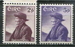 Ireland Mi# 130-1 Postfrisch/MNH - Poet And Fisherman - 1949-... Republic Of Ireland