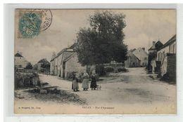 70 VALAY #12259 RUE D APREMONT EDIT BERGERET - Autres Communes