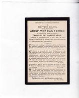 A.VERCAUTEREN °DRONGEN 1858  +GENT 1916 (M.DE DOBBELAERE) - Devotion Images
