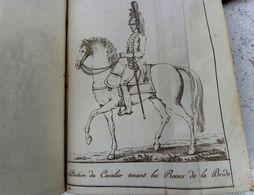 126 PLANCHES ORDONNANCE PROVISOIRE SUR L'EXERCICE ET LES MANŒUVRES DE LA CAVALERIE. 1815. ARMEE NAPOLEON 1° - Documents