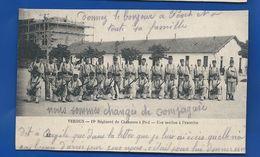 19° Régiment De Chasseurs à Pied    VERDUN    Une Section à L'Exercice  Animées - Regimente