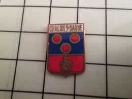 115c Pin's Pins / Beau Et Rare / THEME : VILLES / BLASON ECUSSON ARMOIRIES CHALONS SUR SAONE - Villes