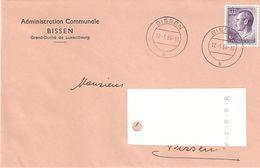 Lettre Commune De Bissen - Lettres & Documents