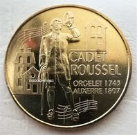 Monnaie De Paris 89.Auxerre - Cadet Roussel 3 Maisons 2007 - Monnaie De Paris