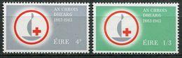 Ireland Mi# 161-2 Postfrisch/MNH - Red Cross - 1949-... Republic Of Ireland