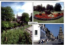 Forres , Mosset Burn , Grant Park , High Street - Moray