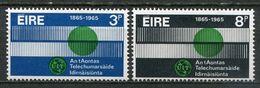 Ireland Mi# 170-1 Postfrisch/MNH - ITU UIT - 1949-... Republic Of Ireland