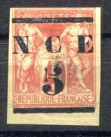 RC 17726 Nelle CALÉDONIE COTE 35€ N° 6 TYPE SAGE SURCHARGÉ NCE NEUF (*)  MNG  ( VOIR DESCRIPTION ) - Nouvelle-Calédonie