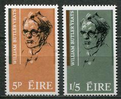 Ireland Mi# 172-3 Postfrisch/MNH - Writer Lyrics - 1949-... Republic Of Ireland