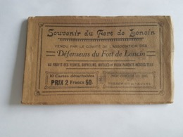 A 2930 - Carnet De 10 Cartes Souvenue Du Fort De Loncin - Ans