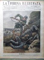 La Tribuna Illustrata 22 Luglio 1917 WW1 Rossoni Cavallotti Isonzo Zucchero Nero - War 1914-18