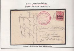 Guerre 1914/18   Cachets  D' Occupation    Voir  Scan - Guerre 14-18