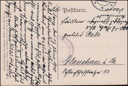 Feldpost Deutsches Eisenbahnkommando Auf Wanneberg-AK Der Stolz Der Firma,7.6.18 - Occupation 1914-18
