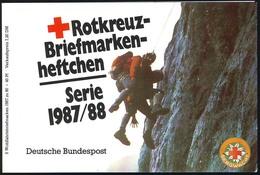 DRK/Wofa 1987/88 Gold & Silber - Bursenreliquiar 80 Pf, 6x1336, ESSt Bonn - Monete