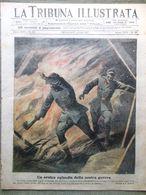 La Tribuna Illustrata 29 Luglio 1917 WW1 Croce Rossa Cima Campanaro Inghilterra - Guerre 1914-18