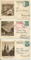 JUGOSLAWIEN / Lot Mit 33 Stück Illustrierte Postkarten, König Peter II, 1 DIN, Alle Gelaufen, Details Siehe Beschreibung - Cartas