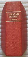 C1  NAPOLEON - ALMANACH IMPERIAL AN 1809 Reliure CUIR Bel Etat - Français